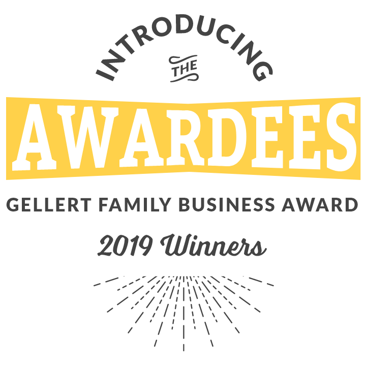 Introducing the Awardees Gellert Family Business Award 2019 Winners